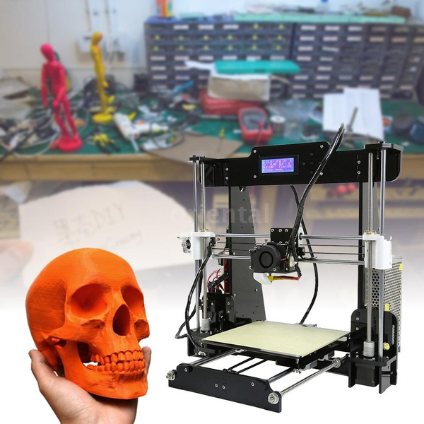 DIY Anet A8 High Precision Desktop 3D Printer Kits Printing Size  220*220*240mm Hobbies
