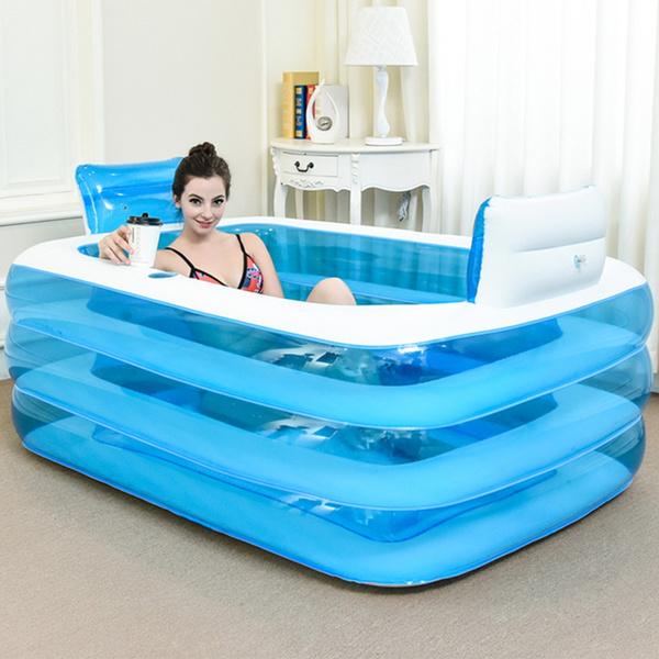 Wish   Double Bath Tub, Lovers\' Adult Bath Basin, Thickening Folding ...
