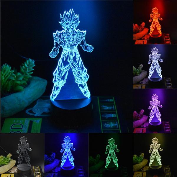 Home Decoration Remote control DBZ dragonballZ LED dragon ball Color Lamp Gift