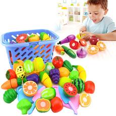 preschooltoy, Kitchen & Dining, Toy, fruitcuttingtool