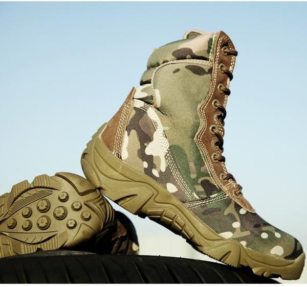 Marine Taktische Outdoor Schuhe Sport Militärleder Männliche Stiefel Großhandel Enthusiasten Armee Splendiferous Camo Kampfschuhe Von Männer FuTJK13lc