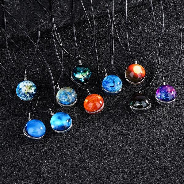 Stargate Portal Pendant Necklace Jewelry