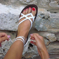 casual shoes, Summer, Sandals, Flats