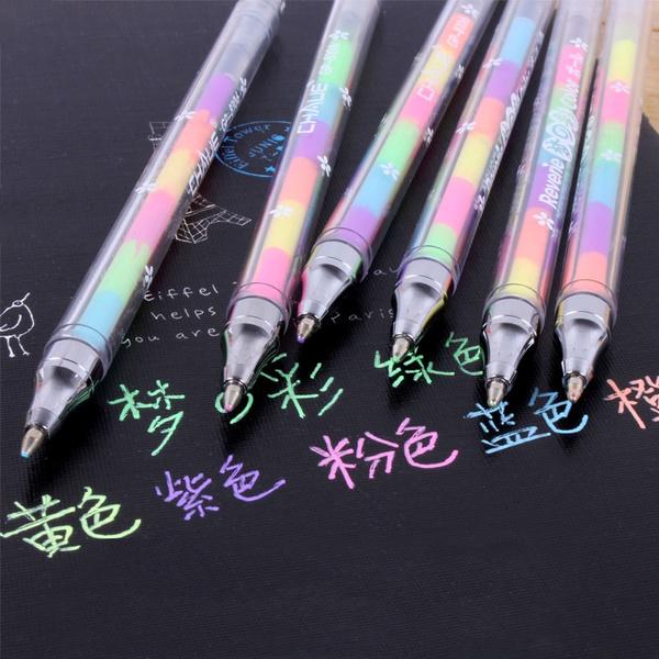 highlighterpen, rainbow, Colorful, paintingpen