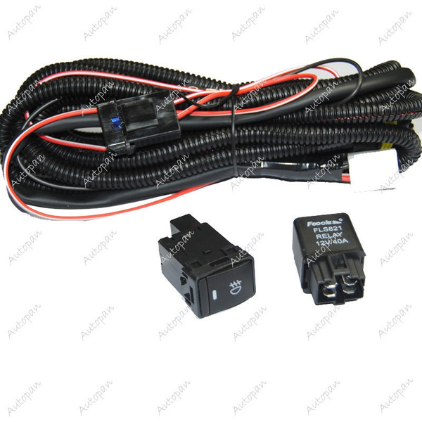 on h11 relay wiring harness