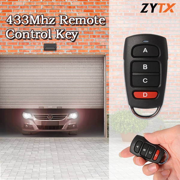 433Mhz Universal Cloning Remote Control Key Copy Cloning Duplicator Fob for  Electric Gate Garage Door HS926