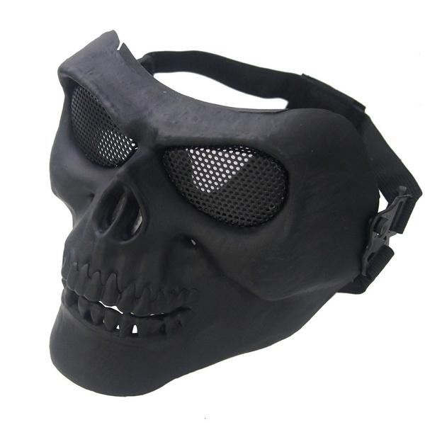 Helmet, masquevisage, skull, skimask