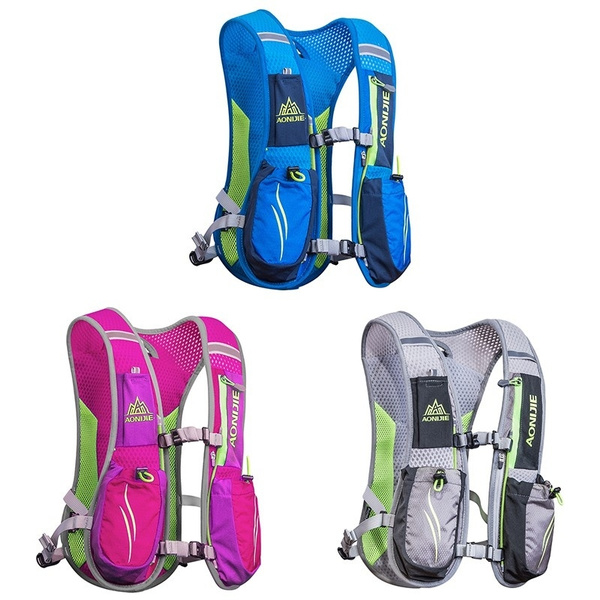 e445187338 AONIJIE Women Men Lightweight Running Backpack Outdoor Sports Trail ...