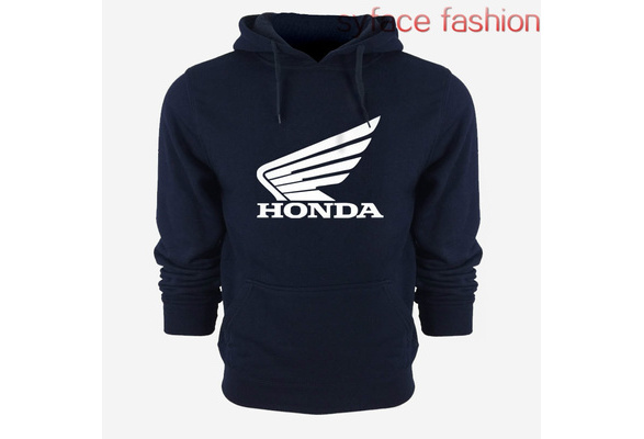 Spring Man HONDA Print Hoodie Sweater Leisure Hoodies Cotton Jacket Honda Fleece Sweatshirts