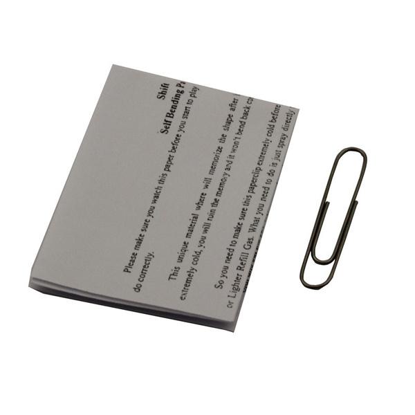 Self Bending Paperclip Nitinol Shape Memory Shift Magic Trick