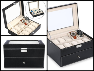 Box, case, Synthetic leather, Jewelry
