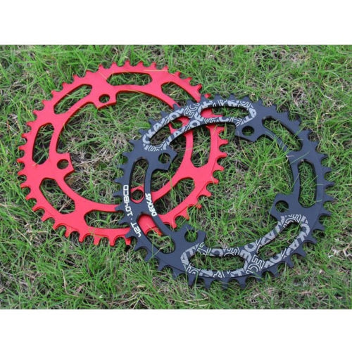DECKAS MTB Bike Round Chainring Bicycle Chain Ring 104 BCD 40//42//44//46//48//50//52T