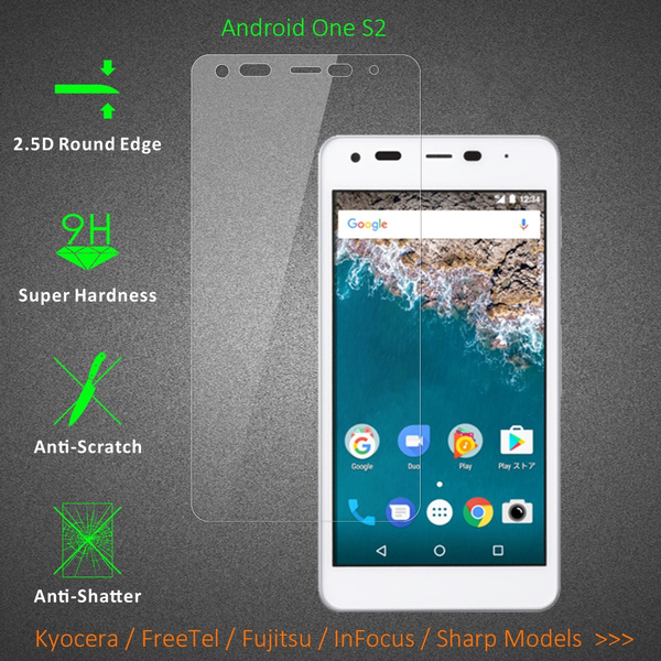 Kyocera Android One S2 Torque G03 KYV41 Glass Protectors,Anti Scratch  Tempered Glass Screen Protector for Kyocera Android One S2 DIGNO F 503KC  TORQUE