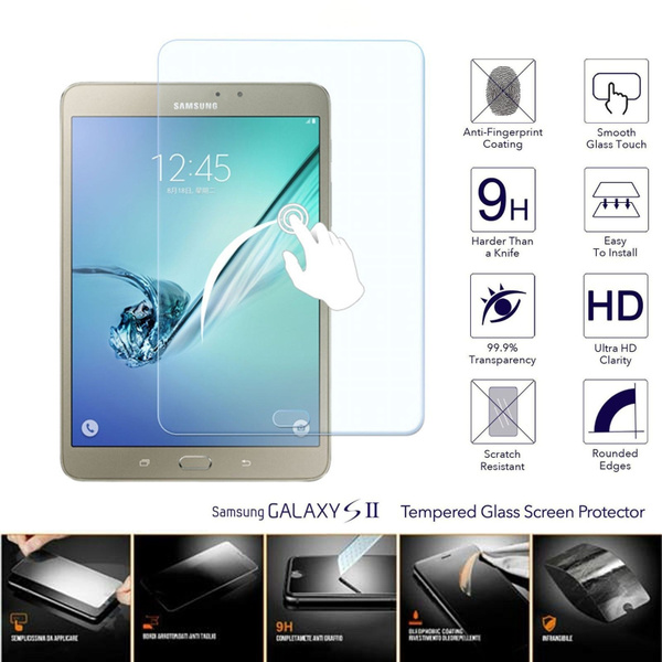 100/% genuine Tempered Glass Screen Protector for Samsung Galaxy tab