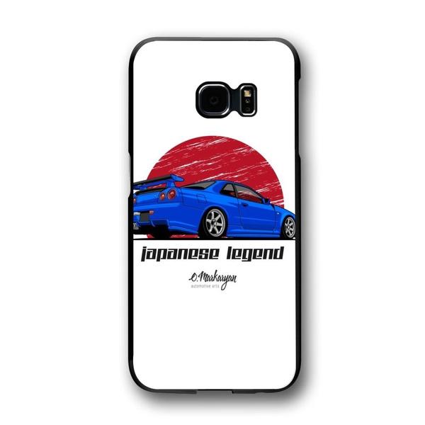quality design 55090 b84b2 Nissan Skyline GTR R34 (blue) Design Phone Case for Samsung Galaxy ,Samsung  Galaxy Note,iPhone Case Samsung Galaxy s9/s9+/S10/S10+/IPHONE XS/XR/X ...