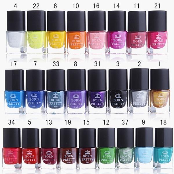 rednailpolish, art, cheap nail polish, Colorful