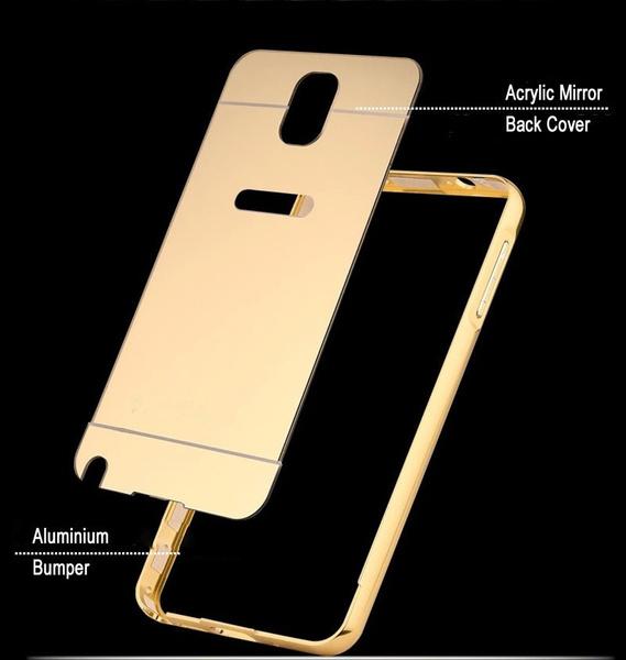 Bumper Detachable Mirror Hard Back Case For Samsung Galaxy J2 -Silver. Source · $50 $19