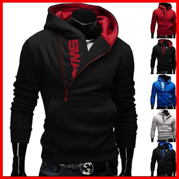 mensslimhoodie, Zipper Mens Hoodies, Mens Jacket, men hoodie