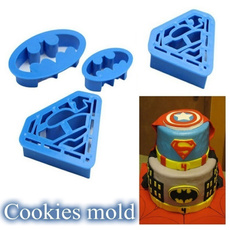 decoration, caketool, Batman, biscuit