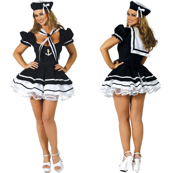 One Size Women Police Cosplay Costume Dress Sex Cop Uniform Sexy  Policewomen Costume Outfit Prom