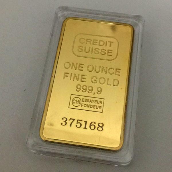 Gold Bullion Clad Bar