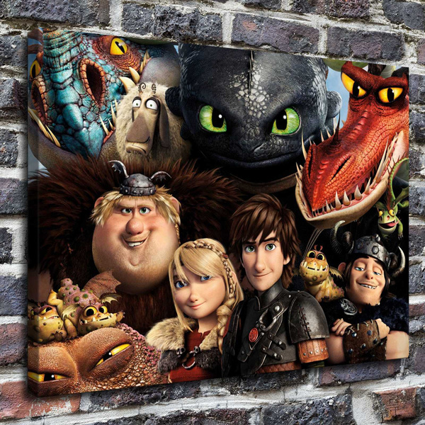 How To Train Your Dragon 2 Dragons