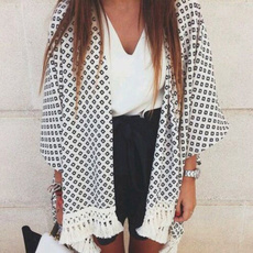 blouse, Summer, cardigan, chiffon