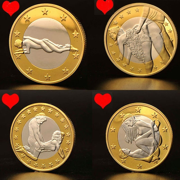 Marine thingEROTIC Sex Coins Germany Medals/Gold Coins Collection  Commemorative Coins (Get Other Different Posture Coins and a Mystery Gift  If More