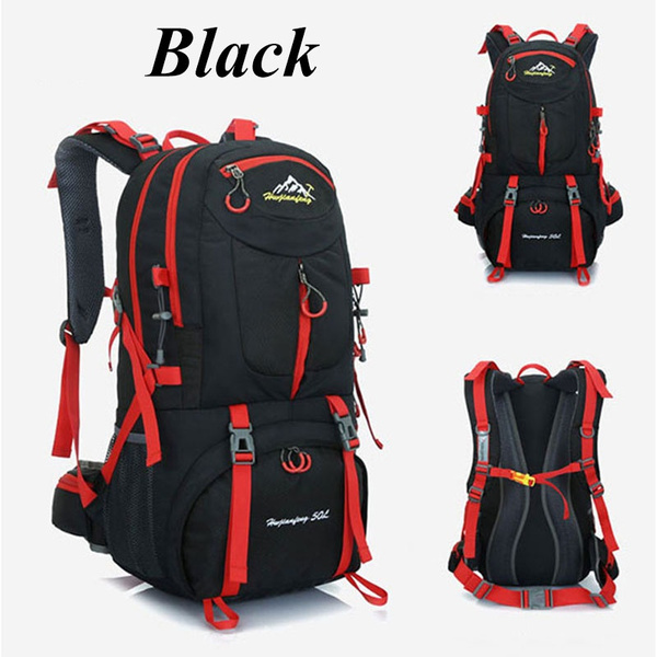 1a2ee89c95 ... Large Capacity Travel Waterproof Outdoor Rucksacks Tactical Sports  Camping Hiking Backpack Bags Unisex Women Men Fashion Backpacks Size 40L 50L  60L