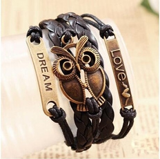 Crystal Bracelet, Wristbands, Beauty, Owl
