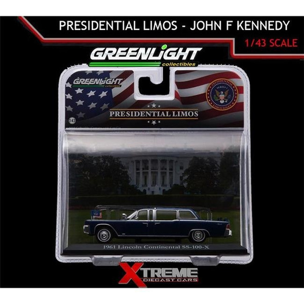 Wish | Greenlight 86110A 1 By 43 1961 Lincoln Continental John F ...
