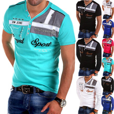Slim Fit, Polo Shirts, Long Sleeve, Shirt