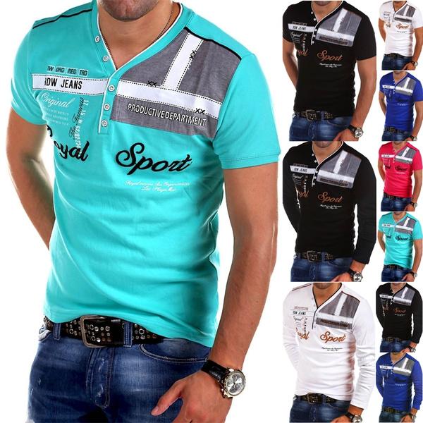 Slim Fit, Polo Shirts, Long Sleeve, Shirt