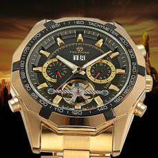 modawatch, relojsideskeleton, montrehomemechanicalwatche, gold