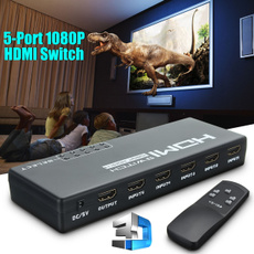 hdmiswitch, 1080psplitter, Remote, tvvideoampaudioaccessorie