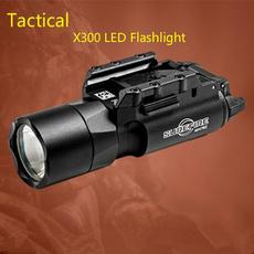 Flashlight, pistol, led, Hunting