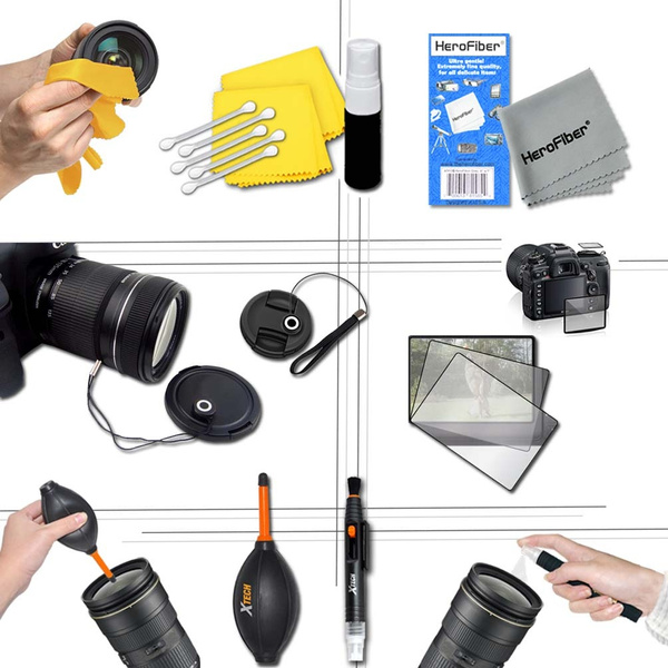EOS 600D Rebel T3i Ideal 21 Piece Accessory Kit for EOS Rebel T6i EOS Rebel T5 Rebel SL1 Rebel T3 EOS Rebel T6S Rebel T5i Rebel T2i EOS 650D T6S T6 EOS M2 Rebel T4i EOS M EOS 700D