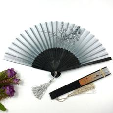 foldingfan, pocketfan, bamboofan, Flowers