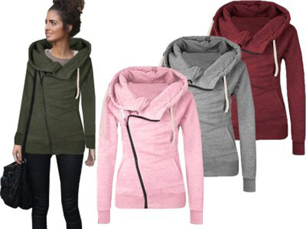 hooded, womens hoodie, Long Sleeve, Winter
