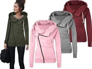 hooded, womens hoodie, Long Sleeve, Winter