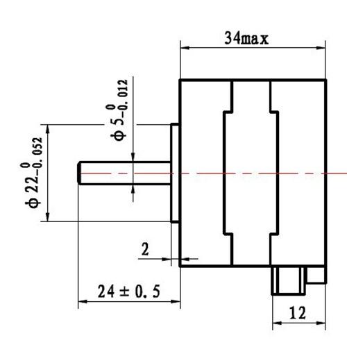 Cute Nema 17 Stepper Motor 12v For Cnc Reprap 3d Printer Extruder