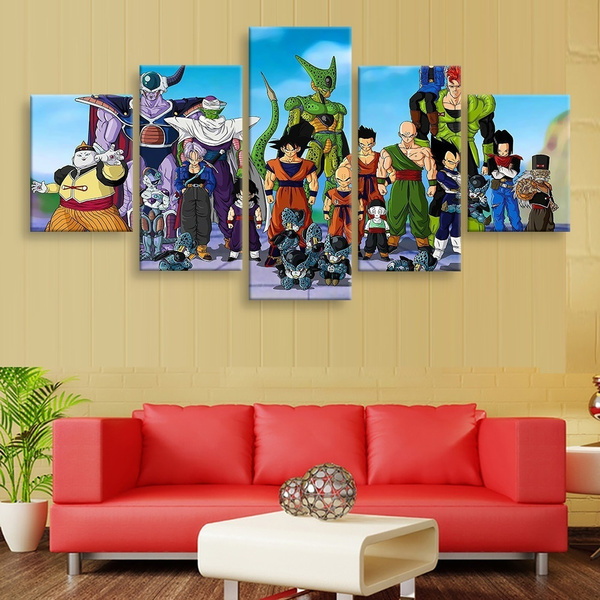 Wish | Unframed HD Printed Dragon Ball Z Posters Painting Canvas ...