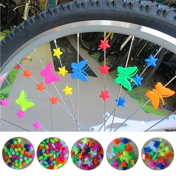 Plastic, bikewheelclip, Bicycle, Sports & Outdoors