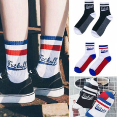 Cotton Socks, Hosiery, Sport, Skateboard