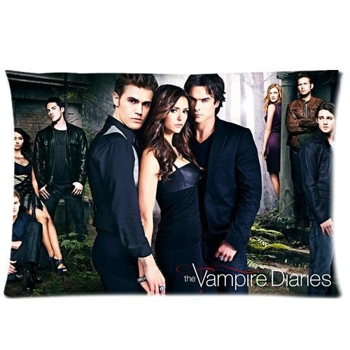 Vampire Diaries We Are Together Custom Rectangle Pillow Cover Cases