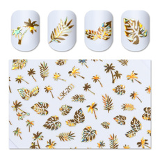 Adhesives, nail stickers, Holographic, women39sfashion