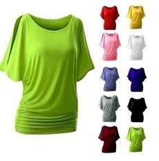 blouse, Summer, Bat, Fashion