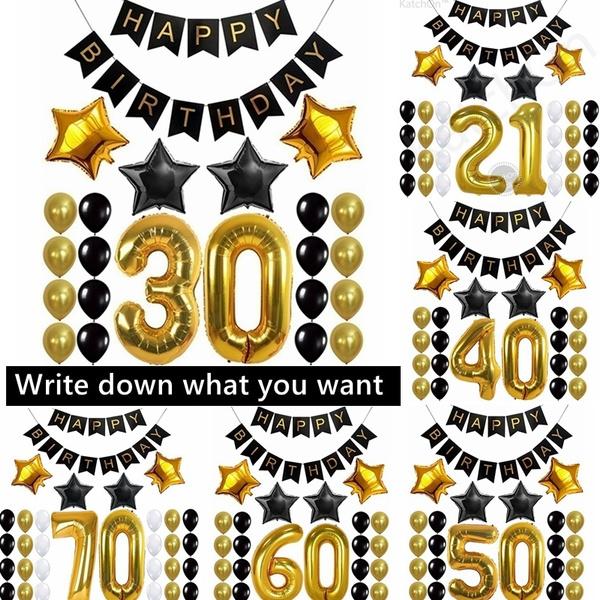 40inchballoon, birthdaysupplie, Home Decor, 30thbirthday