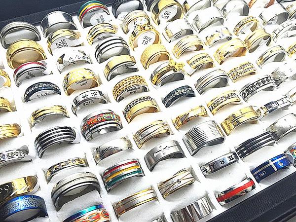 Beautiful, Steel, Fashion, wedding ring
