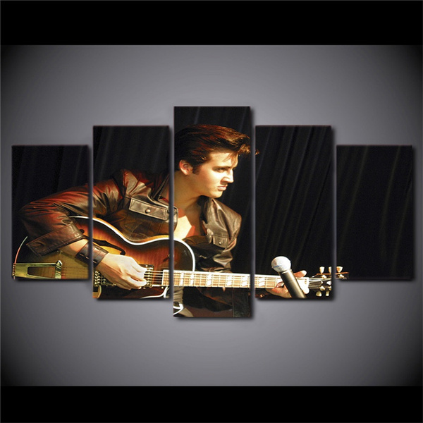 Elvis Presley Canvas High Quality Giclee Print Wall Decor Art Poster Artwork